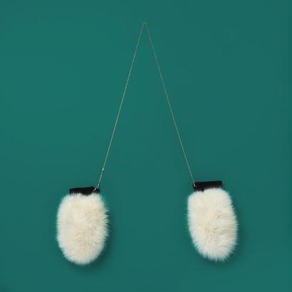 Chain fox  fur globe