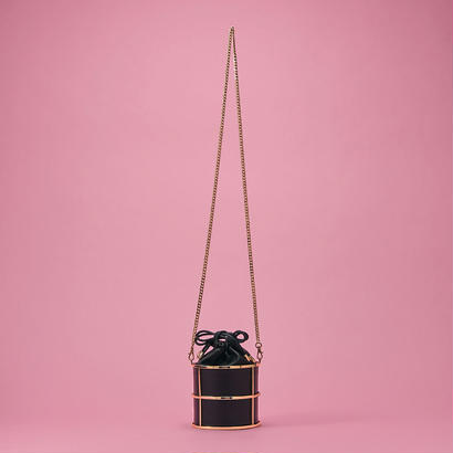 Metal shoulder bag