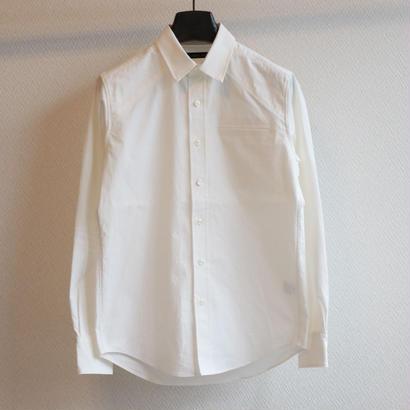 高密度馬布 ショルダーキリカエシャツ W