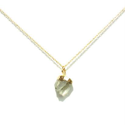 Green Amethyst Necklace -B-