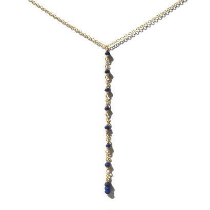 Tiny Lapis lazuli Necklace