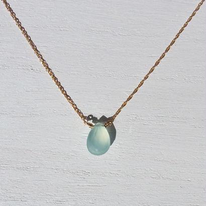 Light Blue Chalcedony Necklace
