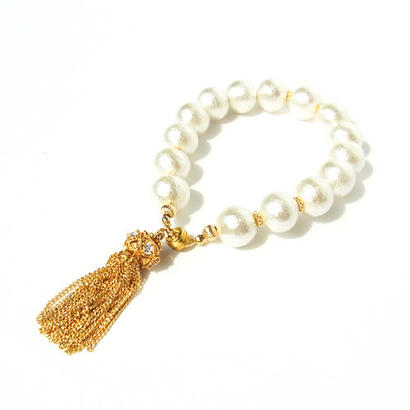 Cotton pearl Luxury Bracelet