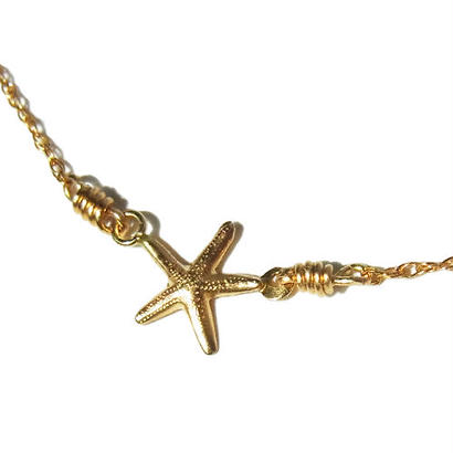 Skinny Necklace -Starfish- Type B