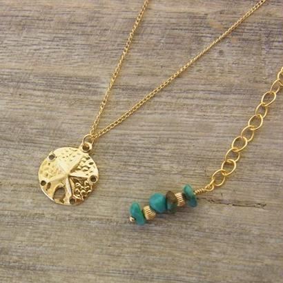 Sand dollor Necklace