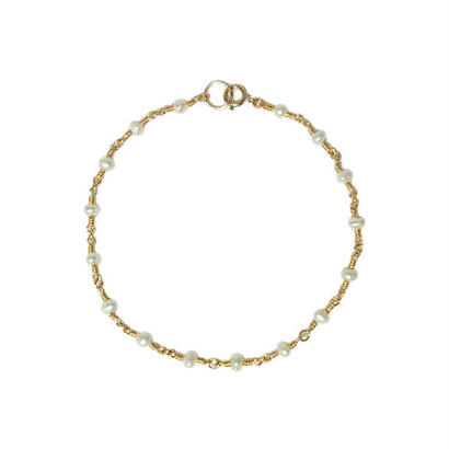 Tiny Pearl Bracelet -Single-