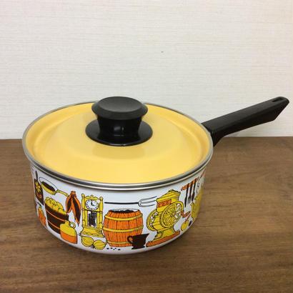 ホウロウ片手鍋