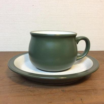 緑のカップ&ソーサー
