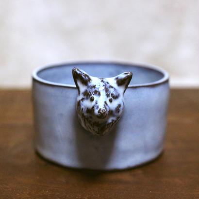 【受注制作】キツネの立体小鉢