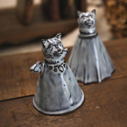【受注制作】ちいさな猫のミニベル(天使)