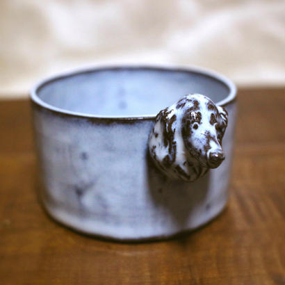 【受注制作】ダックスフントの立体小鉢