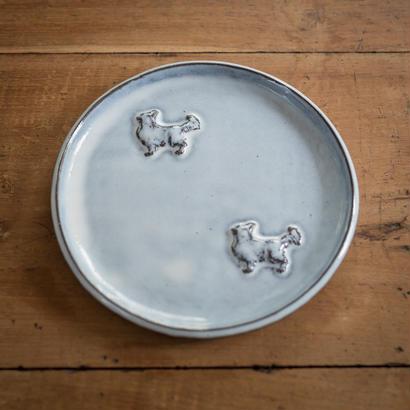 【受注制作】チワワの中くらいのお皿 17センチ