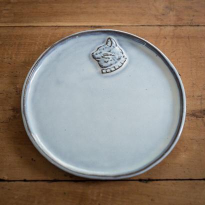 【受注制作】ある猫の肖像のプレート 20センチ