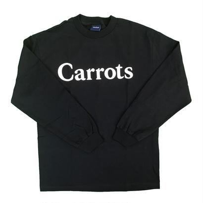 Carrots - Wordmark L/S T-Shirt Black