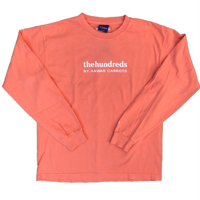 Carrots - Wordmark L/S T-Shirt  Salmon