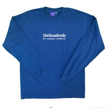 Carrots - Wordmark L/S T-Shirt Navy