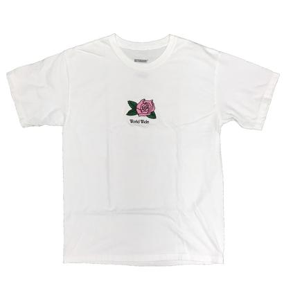 Butter Goods - Rosa Pigment Dye S/S Tee White