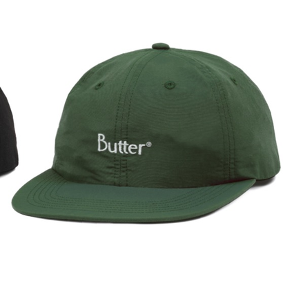 Butter Goods - Nylon Classic Logo Cap Green