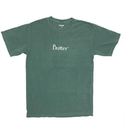 Butter Goods - Classic Logo Pigment Dye S/S Tee Seafoam