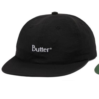 Butter Goods - Nylon Classic Logo Cap Black