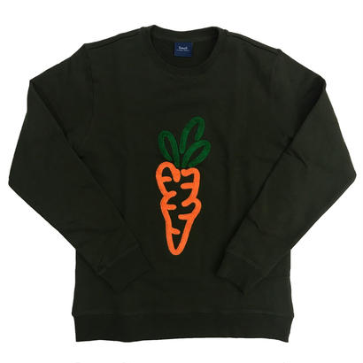 Carrots - Logo Crewneck Sweatshirt Olive