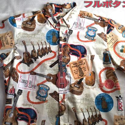 【新品】カマカ100周年記念xレインスプーナー限定 コラボアロハシャツ(関係者専用カラー) RS-033