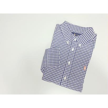 RALPH LAUREN ギンガムチェックシャツ