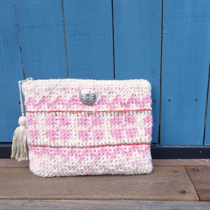 flower clutchbag