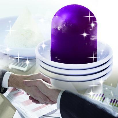 毎月1日・15日に盛り塩を! 自営業・店舗経営・セールス業に最適! ビジネス・商売運の運気を上げる盛り塩卵紫セット