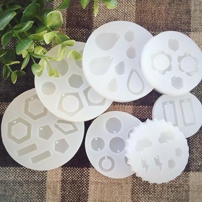 シリコンモールド 大/ Silicone Mold for Resin [Large]