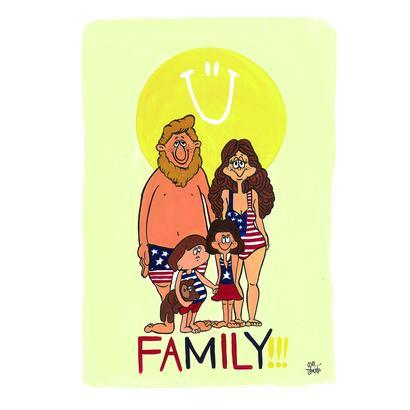012 FAMILY postcard