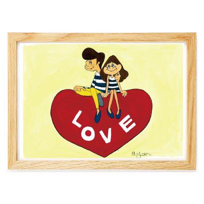042 LOVE A4size