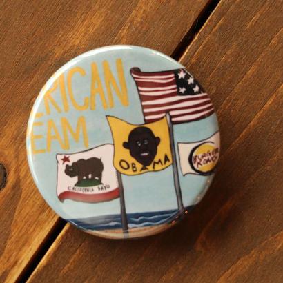 缶バッジ 45mm OBAMA