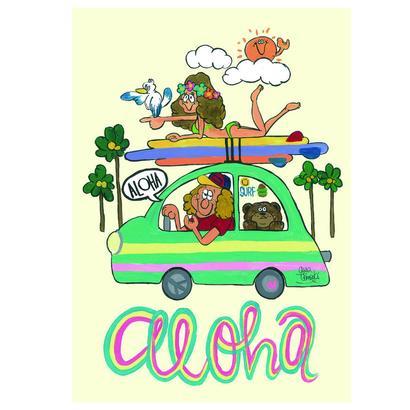 005 ALOHA postcard
