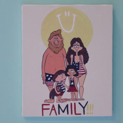 canvas art FAMILY