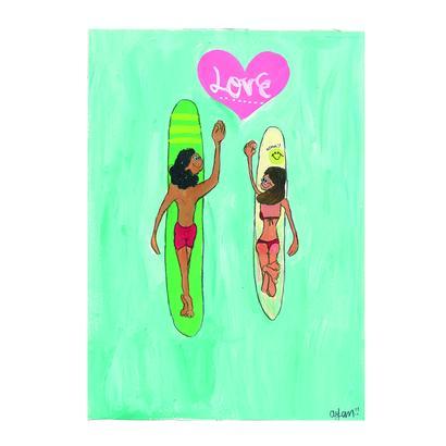 018 lovesurf postcard