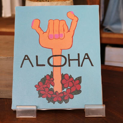 canvas art ALOHA