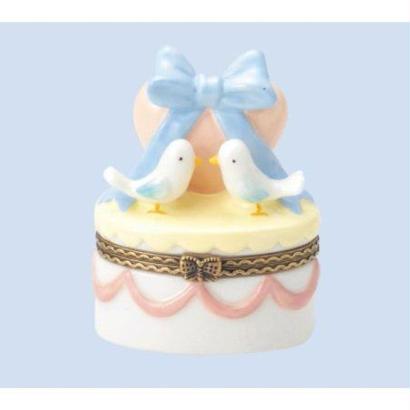 陶器のかわいい小物入れ 出産祝い 結婚祝いにもおすすめ 乳歯ケース、