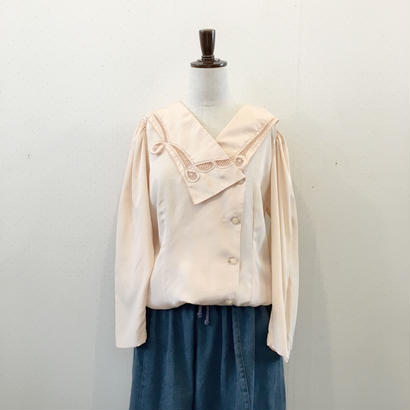 used 60s blouse