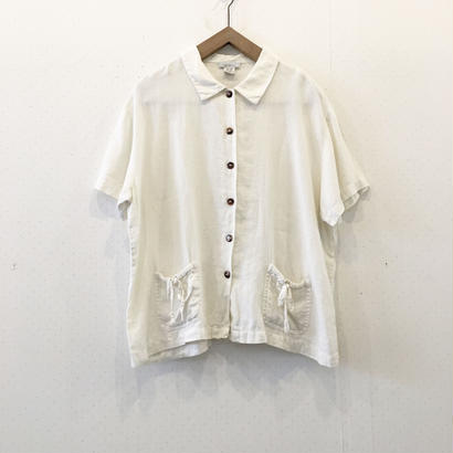 used ribbon blouse