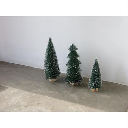 SNOW TREE SET OF 3 スノーツリー 3点セット クリスマスオーナメント