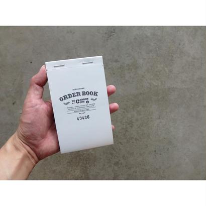ORDER BOOK (注文書/領収書)  made by OLD MAN PRESS