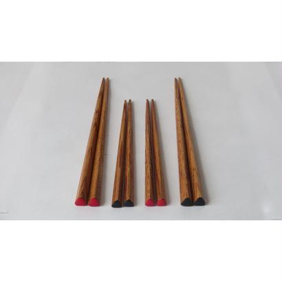 三角箸 (長) 栗