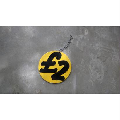 £ 2 サインボード