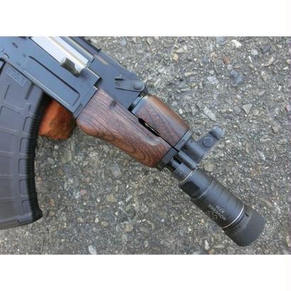 在庫品 マルイ βスペツナズ・AK47 HC用クリンコフタイプウッドハンドガード ウォルナット色ツヤなし3