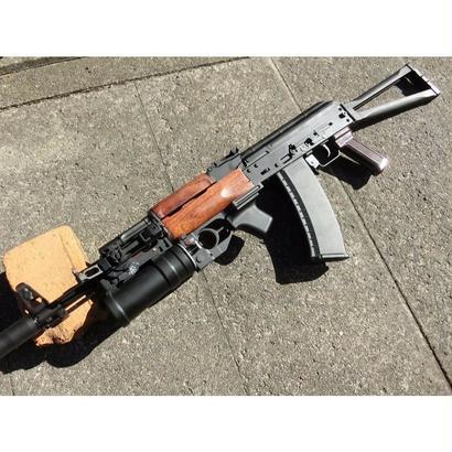 受注 KSC GBB AK74M用 ウッドハンドガード製作