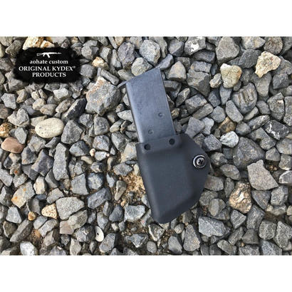 マルイGBB 1911マガジン用KYDEX®Mag Holster・Clip/BK