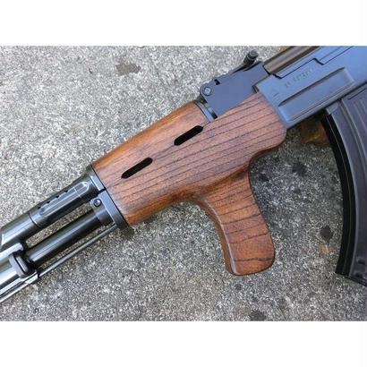 受注 マルイ スタンダードAK47シリーズ用 AIMSタイプウッドハンドガード製作