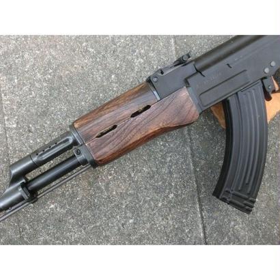 受注 マルイ次世代AK47用 ウッドハンドガード製作
