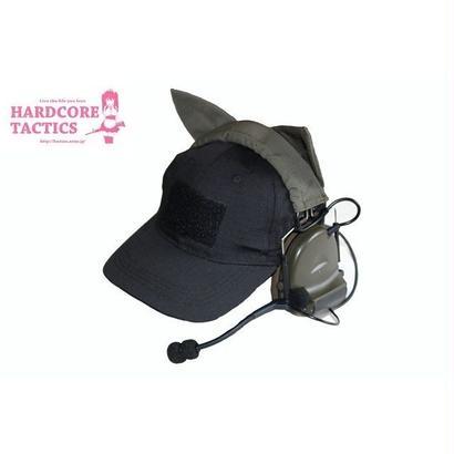 HARDCORE TACTICS 猫耳ヘッドセットカバー RG